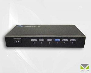 Splitter HDMI 1X8 Vídeo Digital – AV LIFE