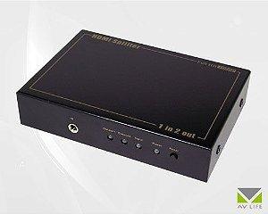 Splitter HDMI 1X2 1080p HDCP - AV LIFE