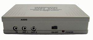Distribuidor de vídeo VGA/WXGA 1 entrada e 2 saídas c/ áudio P2 - DVGA202P