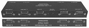 Distribuidor de vídeo VGA/WXGA 1 entrada e 8 saídas. (Fonte externa) - DVGA18 EC