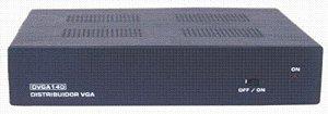 Distribuidor de vídeo VGA/WXGA 1 entrada e 4 saídas. - DVGA140