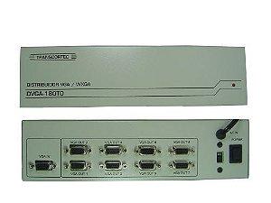 Distribuidor de vídeo VGA/WXGA 1 entrada e 8 saídas. (TORRE) - DVGA180TO