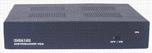Distribuidor de vídeo VGA/WXGA 1 > 4 saídas c/ áudio P2 - DVGA140AP