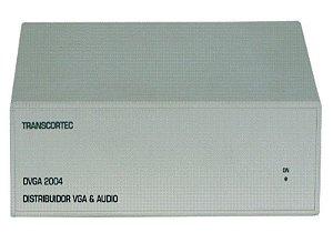 Distribuidor de vídeo VGA/WXGA 1 entrada e 4 saídas c/ áudio RCA (L/R) - DVGA2004R