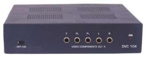 Distribuidor de Video Componente DVC-104