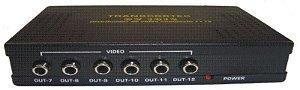Distribuidor de Video Composto DV-1012
