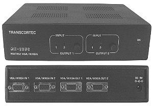 Matriz de Vídeo 2>2( VGA / WXGA ) MX-22EC