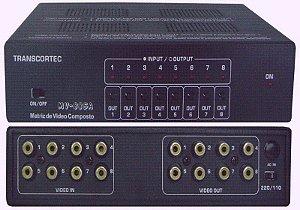 Matriz de Vídeo Composto 8>8 MV88SA
