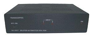 Seletor Automático de Vídeo VGA/WXGA 2 Entradas e 1 Saída - SA-2001
