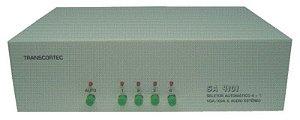 Seletor Manual ou Automático de Vídeo VGA/WXGA 4 entradas e 1 saída - SA-4101