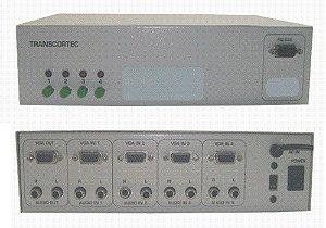 Seletor de Video ( VGA/WXGA ) 4 > 1 - SM44C