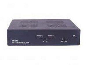 Seletor/Distribuidor de Video VGA/WXGA 2 Entradas e 2 Saídas Iguais - SD2002