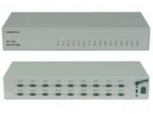 Seletor/Distribuidor de Video VGA/WXGA 16 Entradas e 2 Saídas Iguais - SM1620
