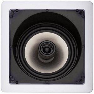 Caixa Gesso Loud SL6-50 para Embutir Quadrada com Falante Angulado