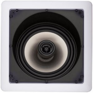 Caixa Gesso Loud SL6-100 para Embutir Quadrada com Falante Angulado (Par)