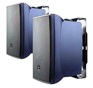 Caixa Acústica JBL  C621P Preta (Par)