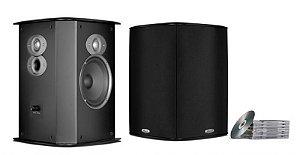 Caixa Acústica Surround 150W FXI A6 Bipolar Polkaúdio (Par)