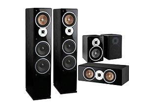 Conjunto de 5 Caixas Acústica – AMCP Serie Grandee