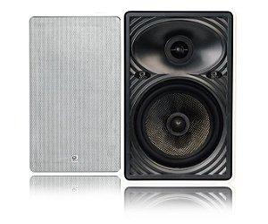 Caixa Acústica Retangular de 5 polegadas AMCP CRT6-100FC-XT