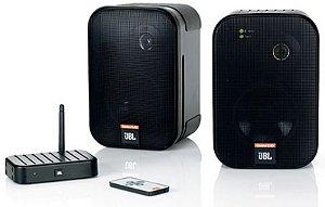 Caixa Acústica JBL Control 2.4G com Sistema Wireless (PAR)