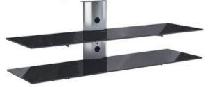 Rack Airon Simply 135/2 C TI BLACK GLASS BLACK