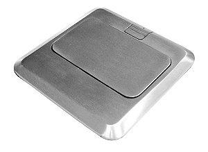 Caixa de Piso em Aço CR4 AV LIFE (Suporta Até 3 Módulos)