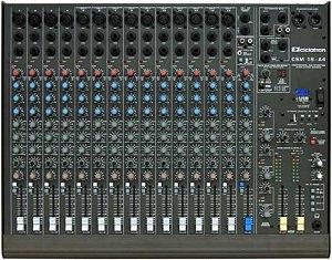 Mesa de Som Profissinal Ciclotron CSM 16 A4II C/ USB
