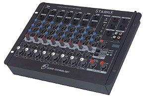 Mesa de som Starmix- US402R com USB LL AUDIO
