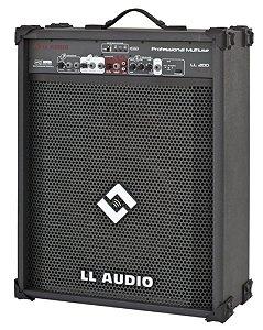 Caixa Acústica Multiuso LL200- 12V com Bateria LL AUDIO