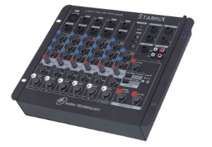 Mesa de som Starmix- US602R com USB LL AUDIO
