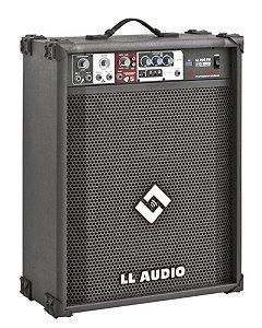 Caixa Acústica Multiuso LL200 com USB e FM LL AUDIO