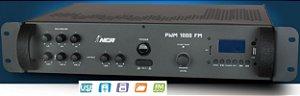 PRÉ AMPLIFICADOR MIXER PWM 1000 com FM e USB NCA