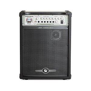 Caixa Amplificada Multiuso Frahm MP 1000 Bluetooth FM 100W RMS
