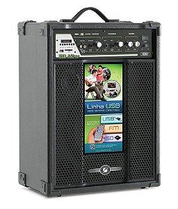 Caixa Acústica amplificada Multiuso Frahm USB/SD/FM - USB 460