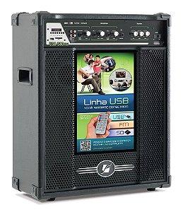 Caixa Acústica amplificada Multiuso USB/SD/FM Frahm - USB 580