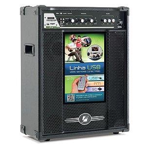 Caixa Acústica amplificada Multiuso Frahm - USB 1150 FM   150 W