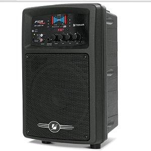Caixa Acústica amplificada Multiuso Frahm PSA 650 12V USB/FM