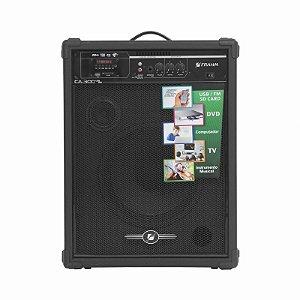 Caixa Acústica Amplificada Multiuso Frahm CA 300 USB FM