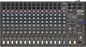 Mesa de Som Audio Stereo CICLOTRON AMW 16 ESD
