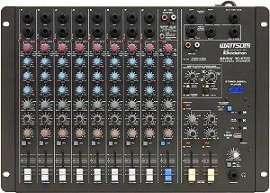 Mesa de Som Audio Stereo CICLOTRON AMW 10 ESD