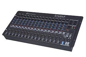 Mesa de som S1602D- 12 Canais LL AUDIO