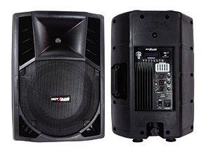 Caixa Acústica Ativa Plastica- HSB-12E