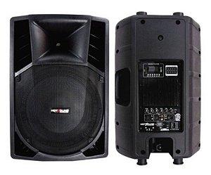 Caixa Acústica Ativa Plastica- HSB-15E