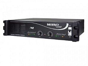 Amplificador Etelj Linha Nitro 2200 AB