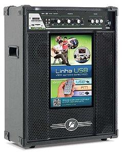 Caixa Acústica amplificada Frahm Multiuso USB/SD/FM - MF 1150