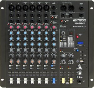 Mesa de Som Audio Stereo CICLOTRON AMBW 8 EXD USB
