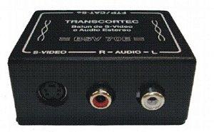 Balun de S-Vídeo com Áudio- BSV - 70E