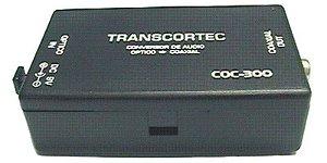 Conversor sinal de áudio COC - 300