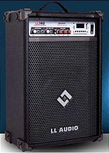CAIXA AMPLIFICADA MULTIUSO LL140BT com USB  e BLUETOOH LLAUDIO