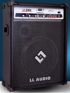 Caixa Acústica Multiuso LL500 USB e BLUETOOTH LL AUDIO